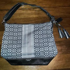 Coach Duffle Legacy Stripe Handbag